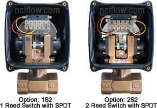RCM Flow Meter Limit Switches